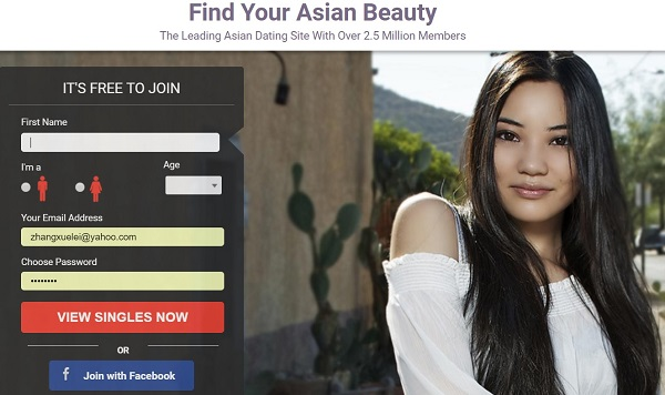 New free dating site asian